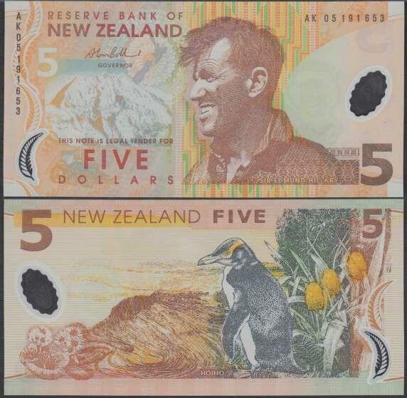 Buy NZD 5$ Bills Online